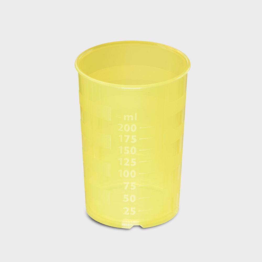 melinip Schnabelbecher standard, Unterteil, 200 ml, gelb
