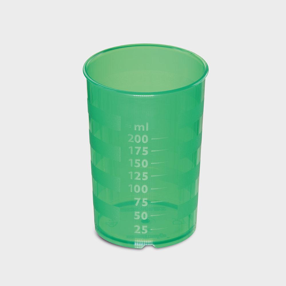 melinip Schnabelbecher standard, Unterteil, 200 ml, grün
