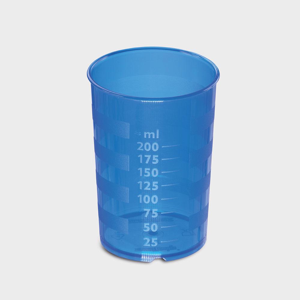 melinip Schnabelbecher standard, Unterteil, 200 ml, blau