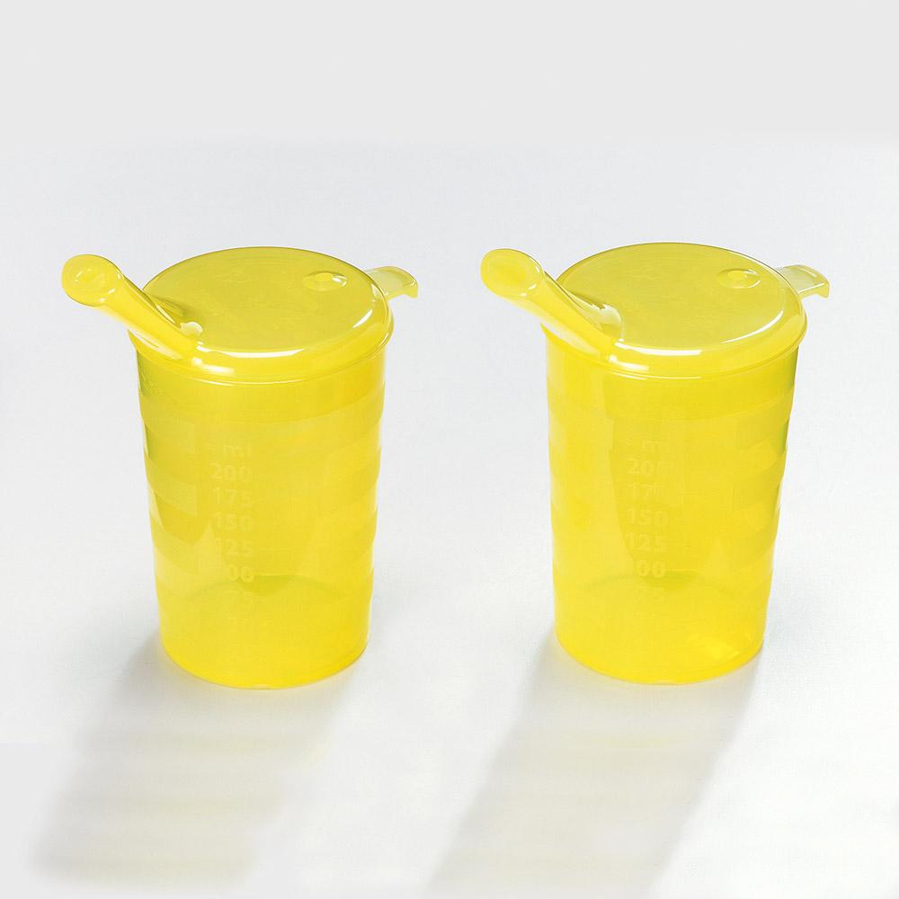 melinip Schnabelbecher standard, Trinkdeckel, gelb - Bild 2
