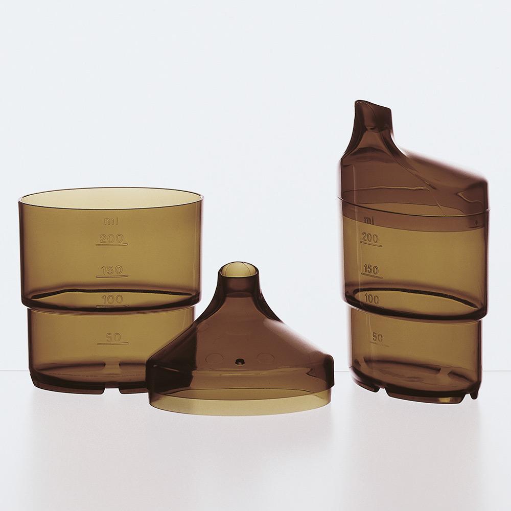 melinip Schnabelbecher apart, Unterteil, 250 ml, topas