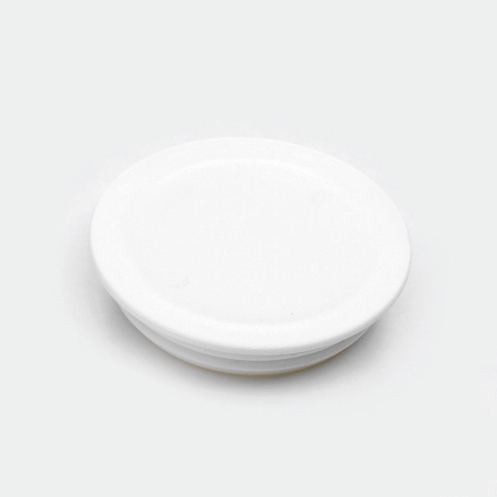 melipul Becher-Beschriftungsdeckel, zu MEHRWEG-Medikamentenbecher, Beutel 60 Stück, weiß