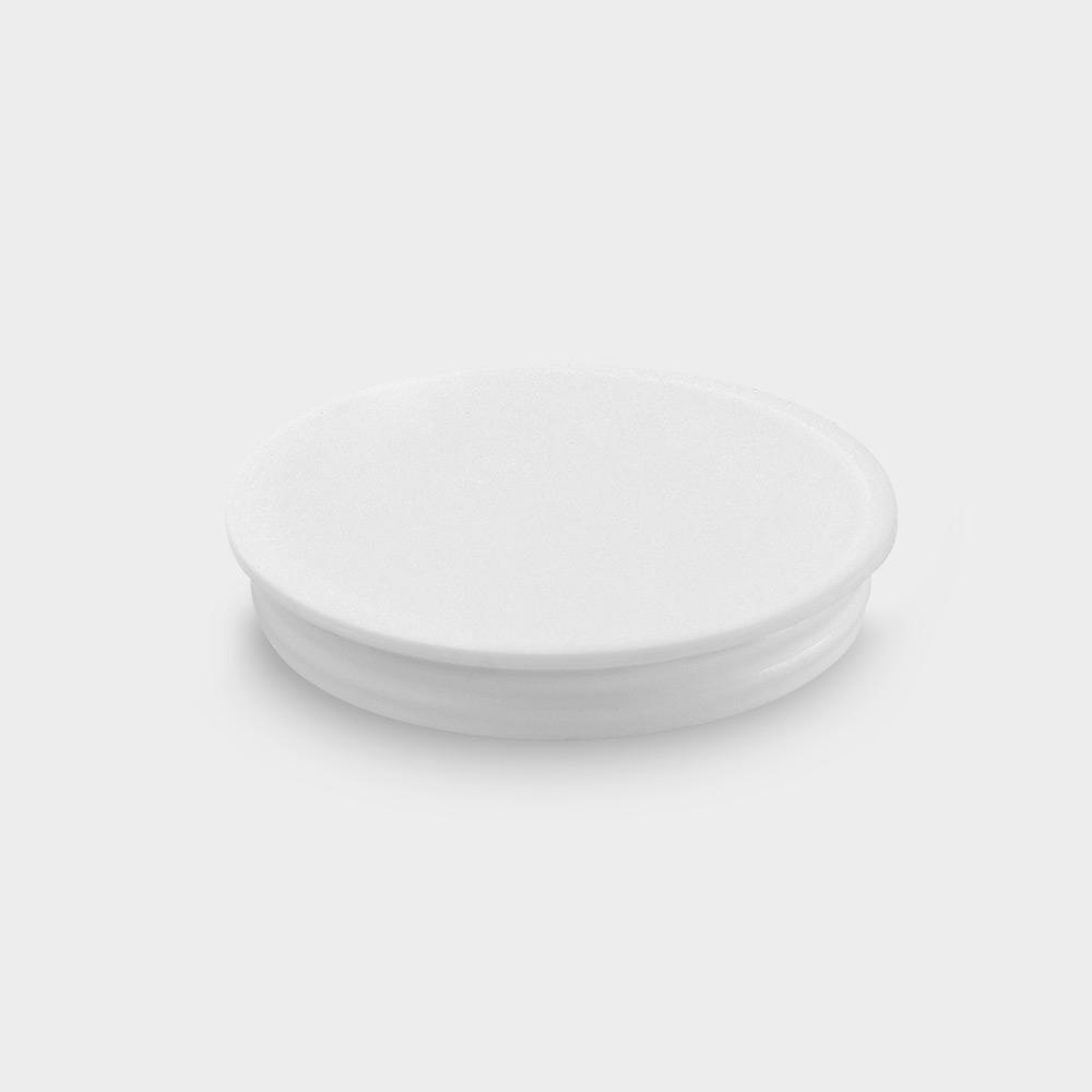 melipul Becher-Beschriftungsdeckel, für EINWEG-Medikamentenbecher, Beutel 150 Stück, weiß