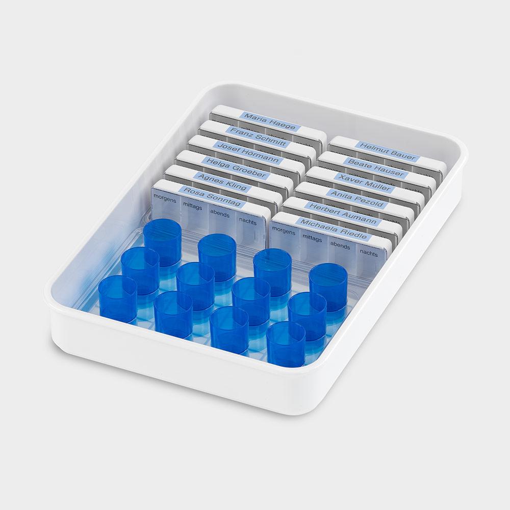 melipul Dispenser- / Becher-Tablett 12TD+12B-35