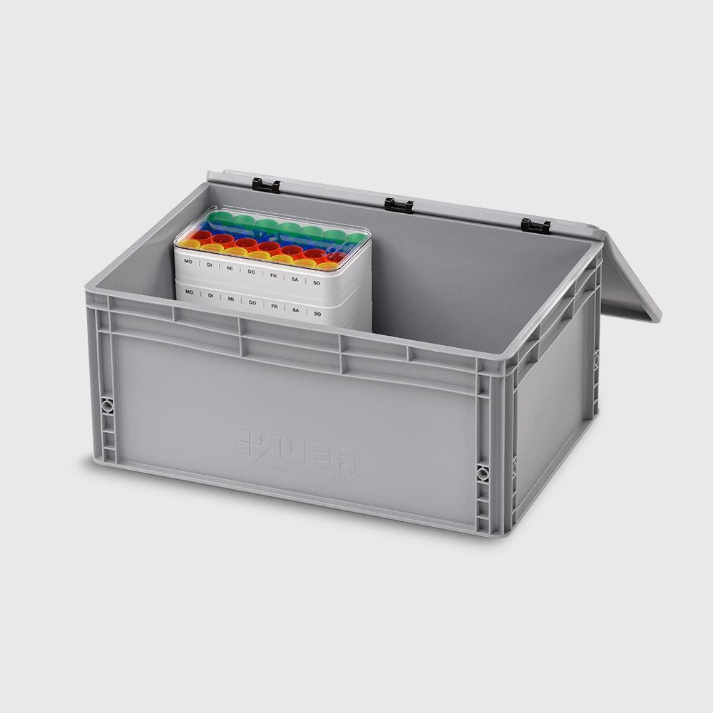 melipul Transportbox, mit Transportsicherungen, für melipul Wochen-Dispenser 7x4 - Bild 2
