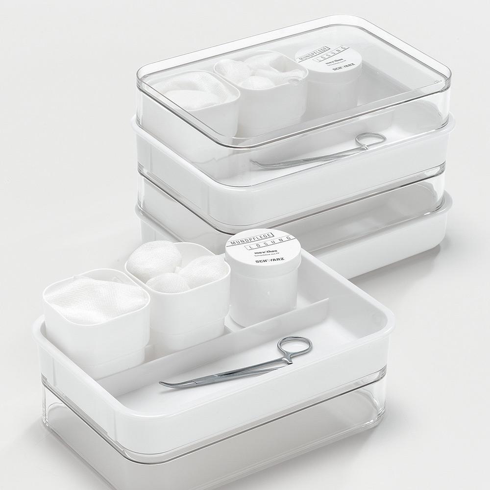 mevithos Mundpflege-Tablett, mit Stapeldeckel - Bild 2