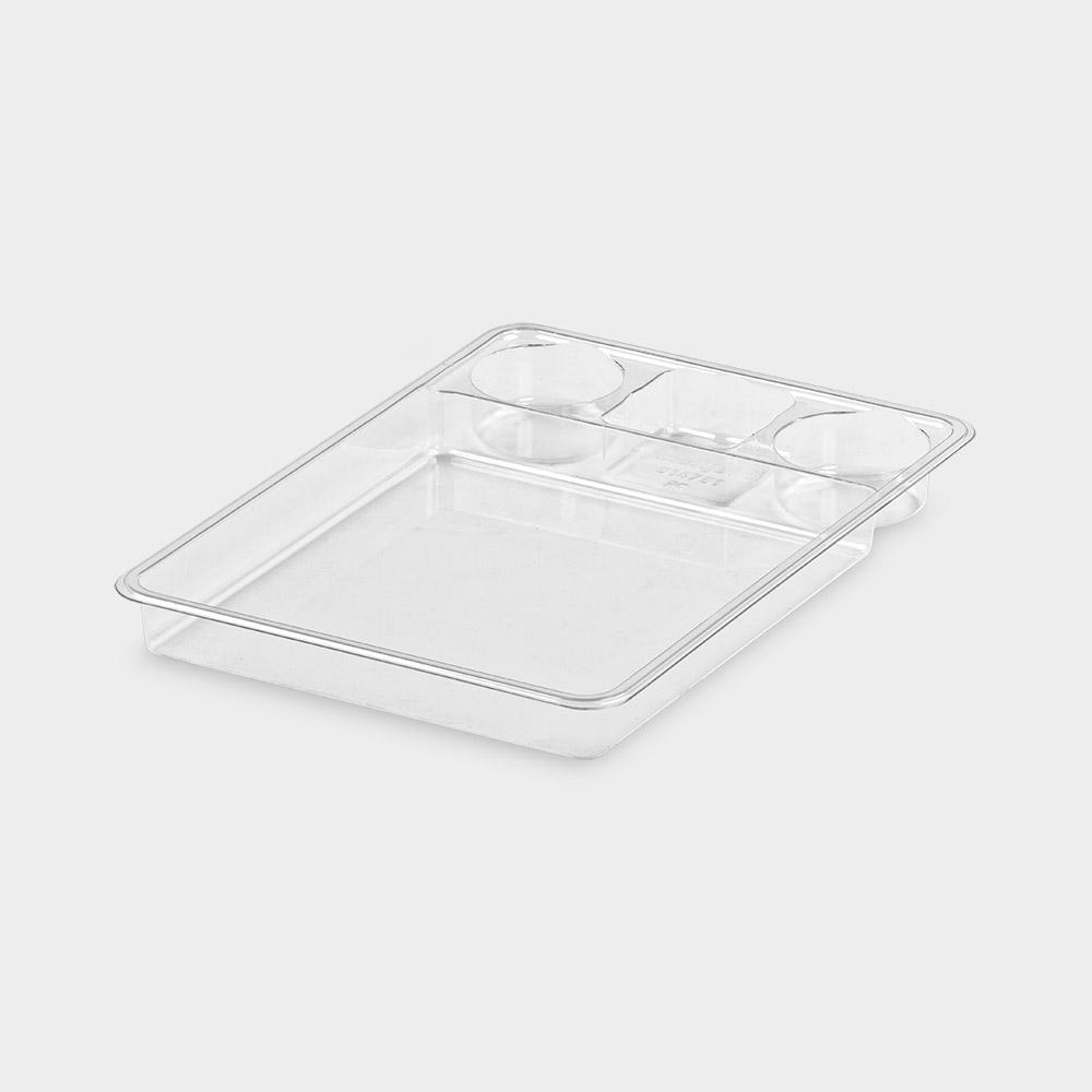 melijekt Spritzen-Einsatz 1/1-35 für Universal-Spritzen-Tablett