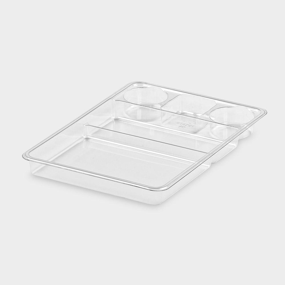 melijekt Spritzen-Einsatz 2/3+1/3-35 für Universal-Spritzen-Tablett