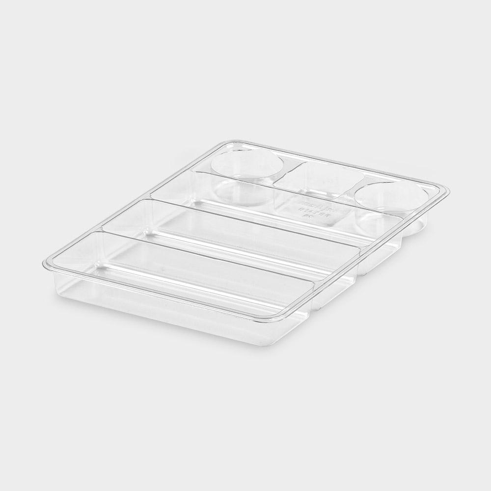 melijekt Spritzen-Einsatz 3x1/3-35 für Universal-Spritzen-Tablett