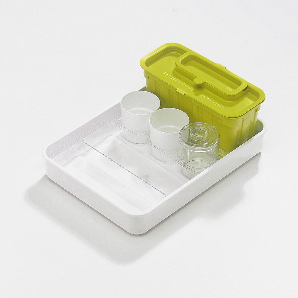 melijekt Spritzen-/Blutentn.-Tablett 2x1/2+3B-35/ER