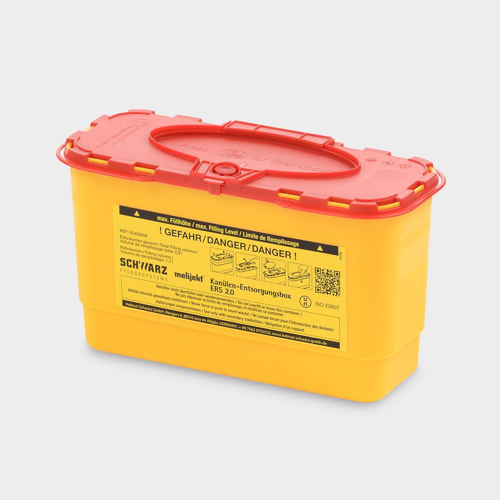 melijekt Kanülen-Entsorgungsbox 2.0 ERS