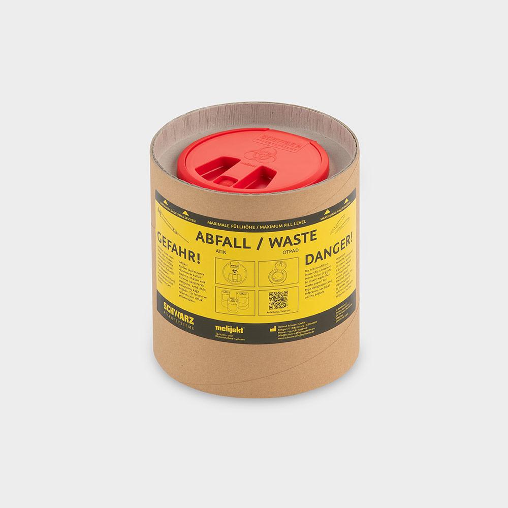 melijekt Kanülen-Entsorgungstrommel 4 l