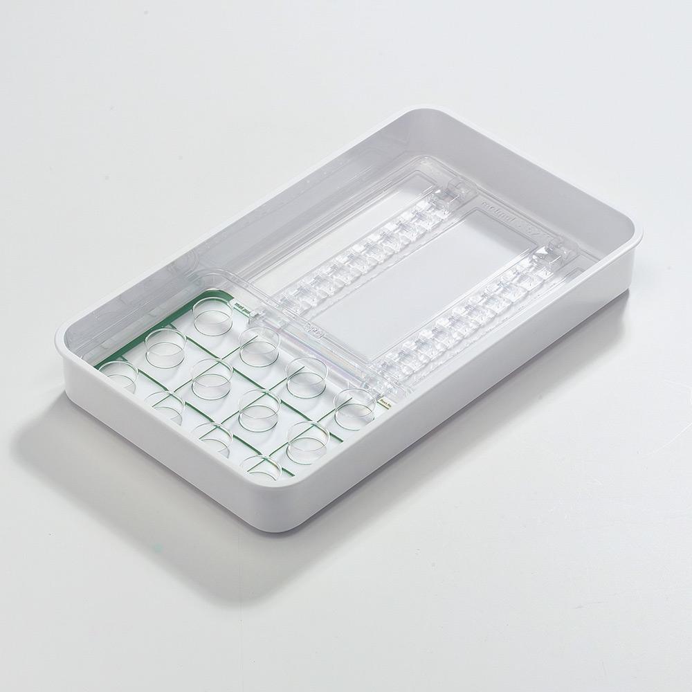 melipul Dispenser-/Becher-Tablett 12D+12B-43