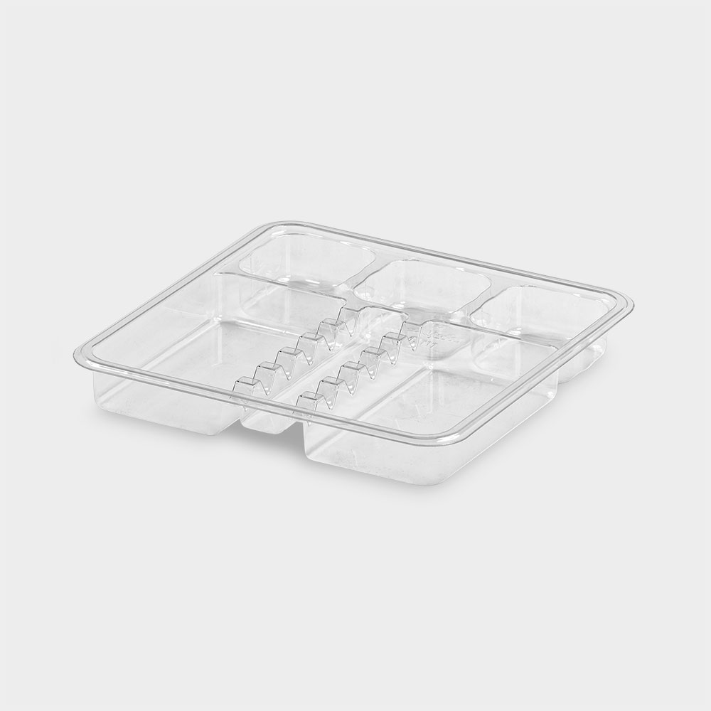 melijekt Spritzen-Einsatz 6-26 für Insulin-Spritzen-Tablett