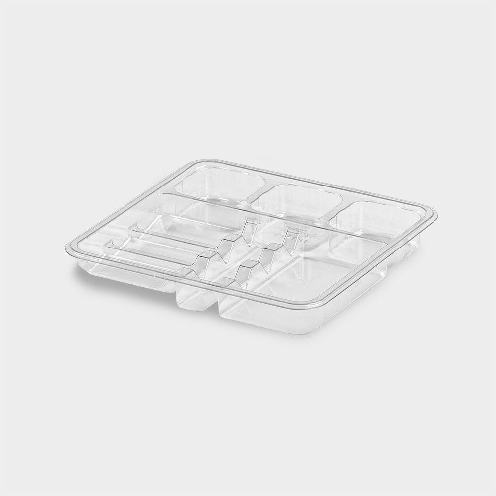 melijekt Spritzen-Einsatz 3-26 für Standard-Spritzen-Tablett