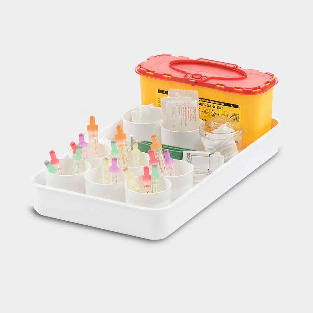 melijekt Blutentnahme-Tablett 9B-43/ERS