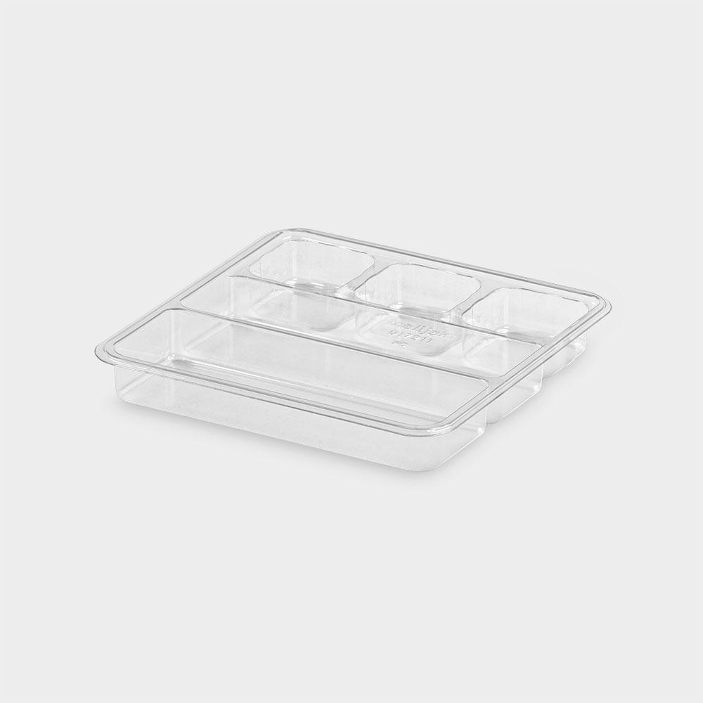 melijekt Tablett-Einsatz 2x1/2-26 für Spritzen-/Blutentnahme-Tablett