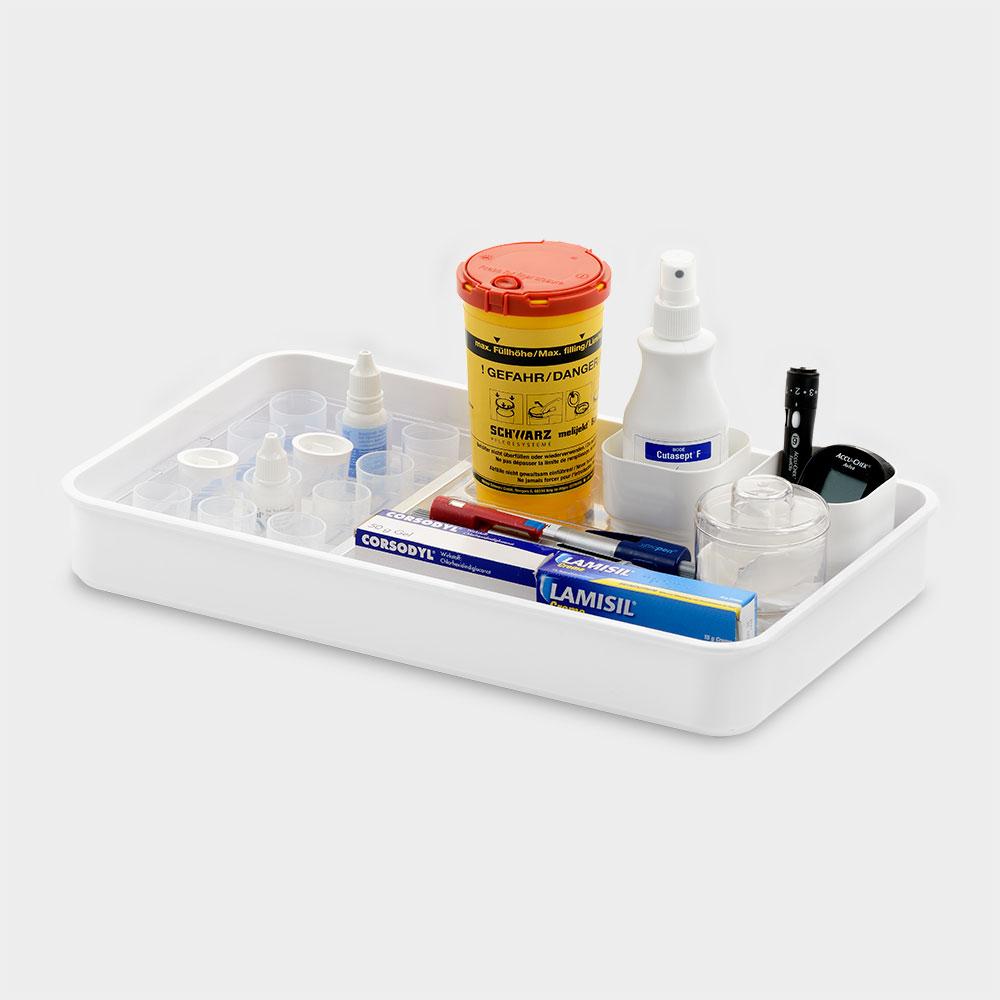 melijekt Insulin-/Becher-Tablett 12B/E-43