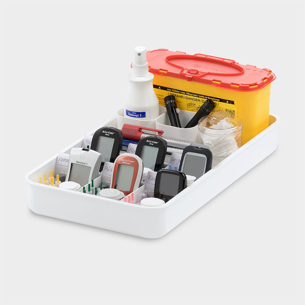 melijekt BZ-/Insulin-Tablett kombiniert 6/ERS-43