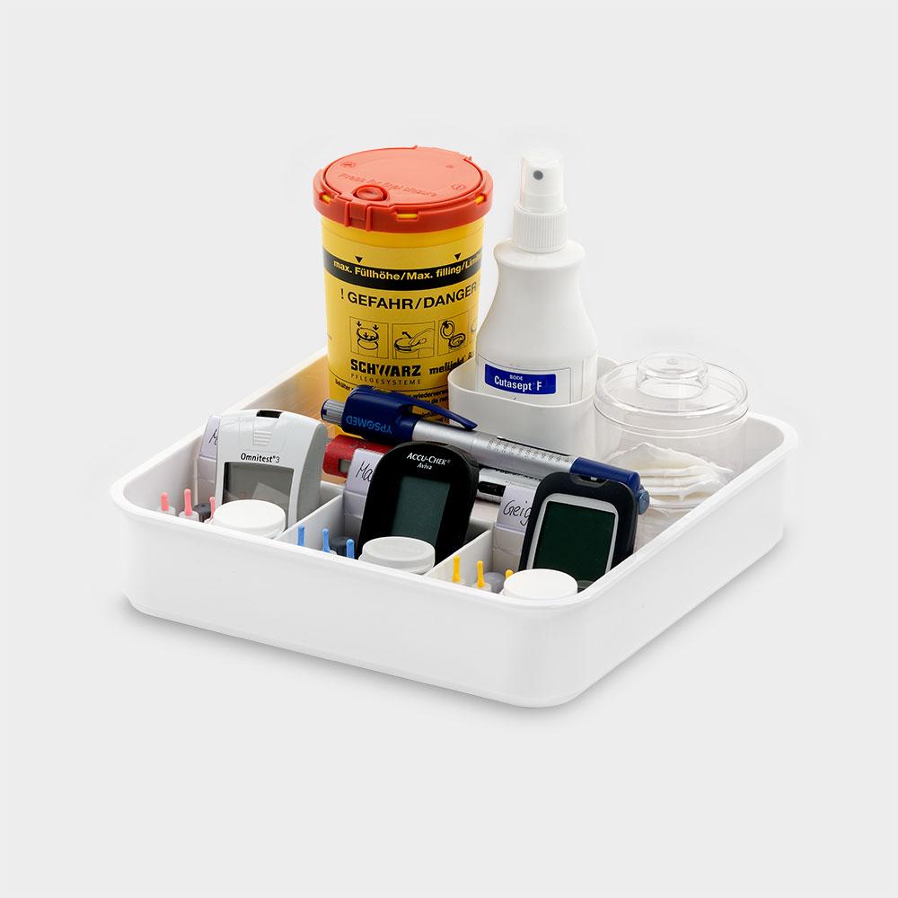 melijekt BZ-/Insulin-Tablett kombiniert 3/E-26