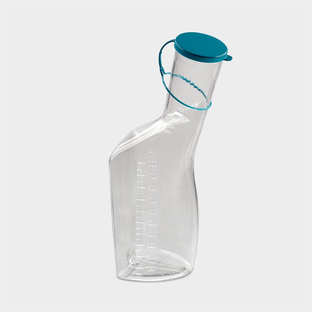 Urinflasche PC mit Deckel