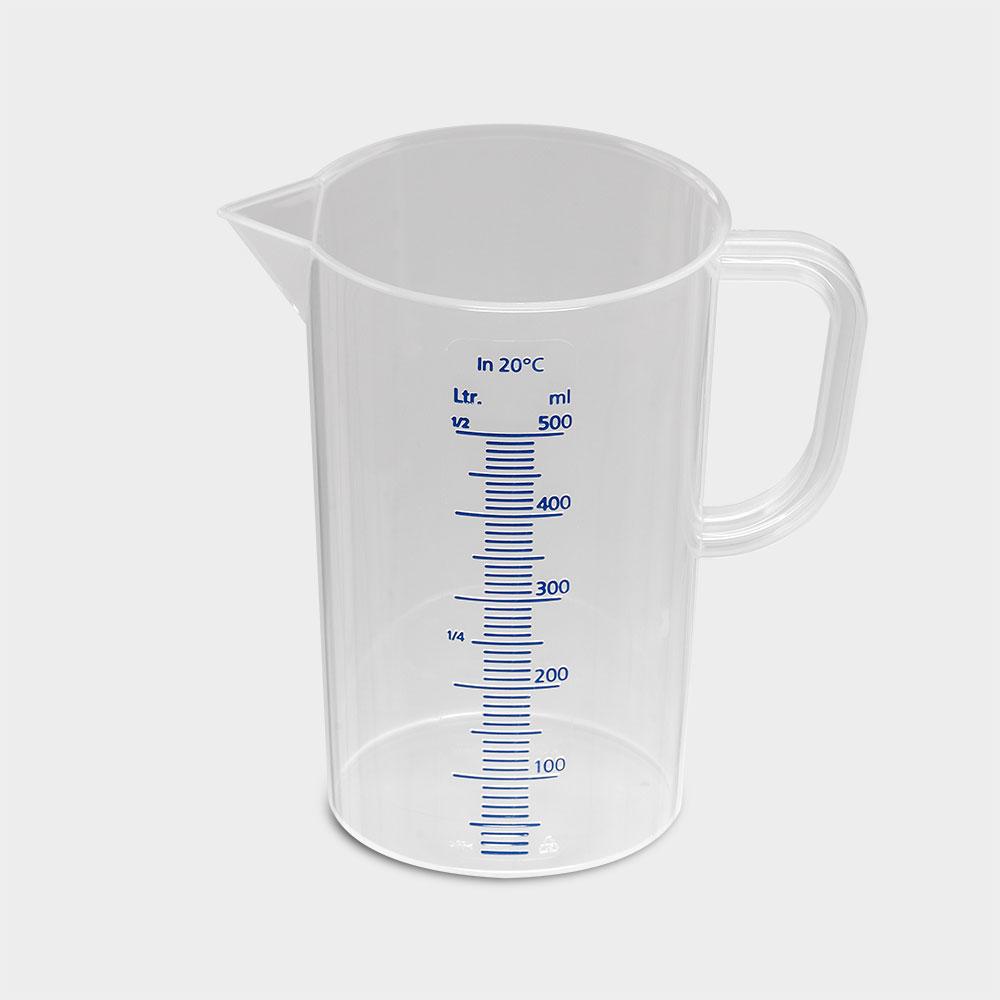 Meßkanne, 0.5 Liter, transparent