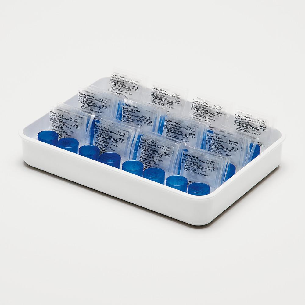 melipul Medikamenten-Tablett 12T+24B-35 - Bild 2