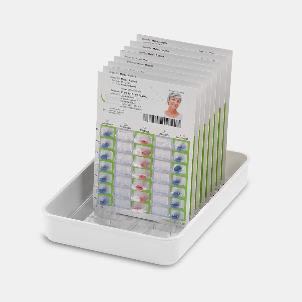 melipul Medikamenten-Tablett 13K-35