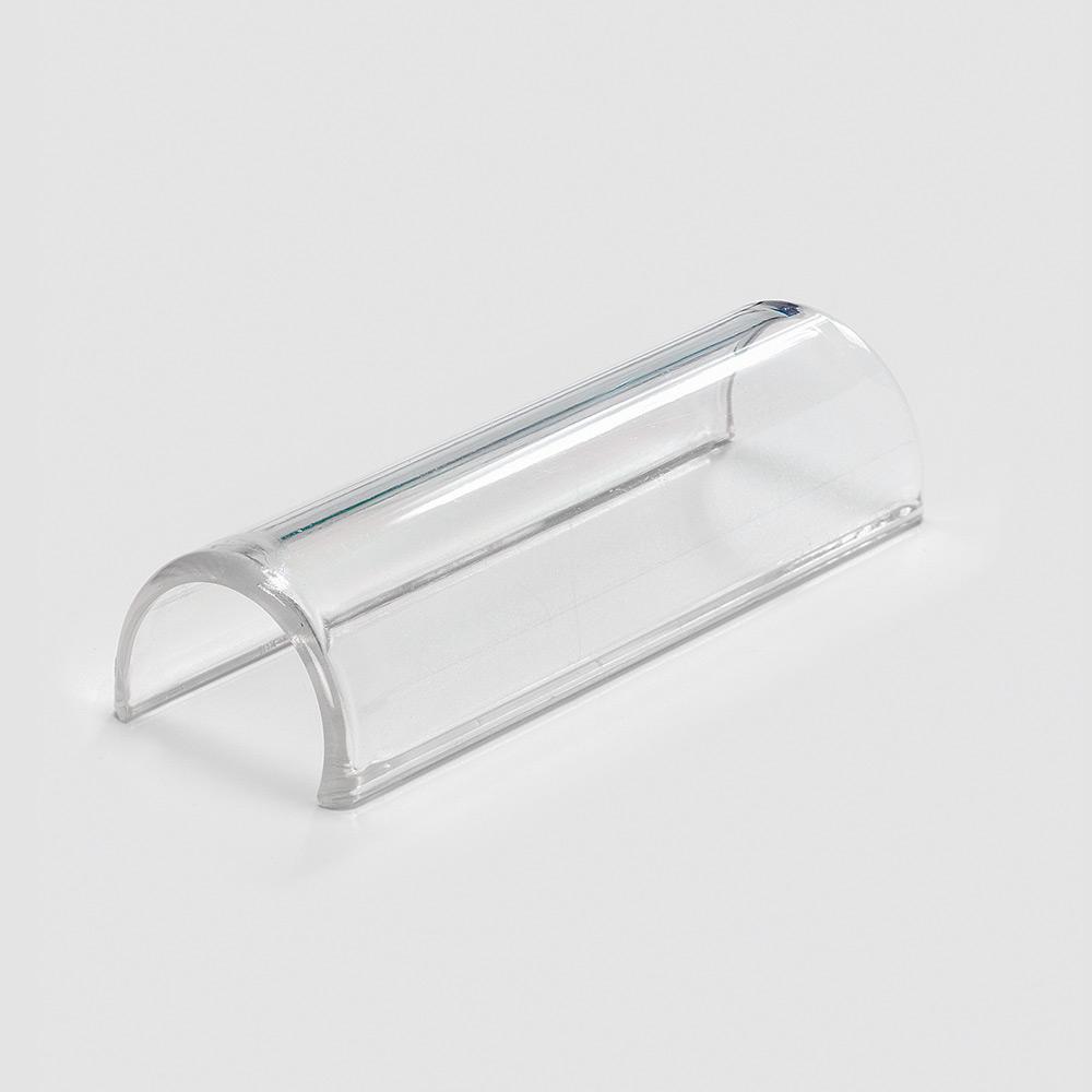 Klemmschild, 32-34 mm, glasklar, zur Bettenkennzeichnung