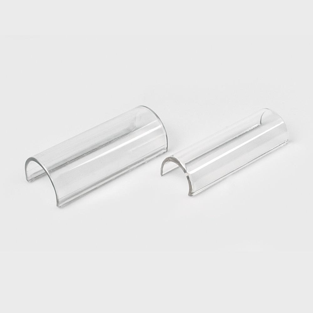 Klemmschild, 38 mm, glasklar, zur Bettenkennzeichnung