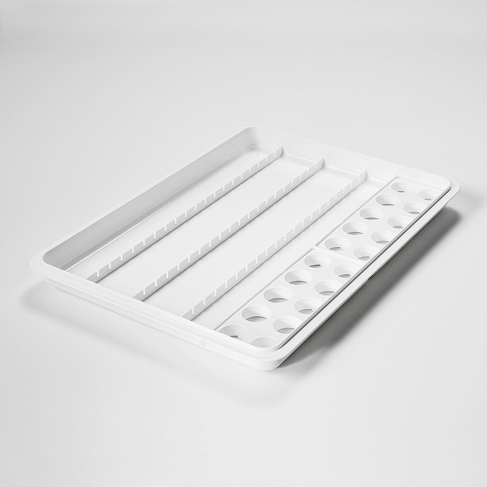 mevipas Dispenser-/Becher-Tablett 20D+20B, mit 2 Becher-Einsätzen