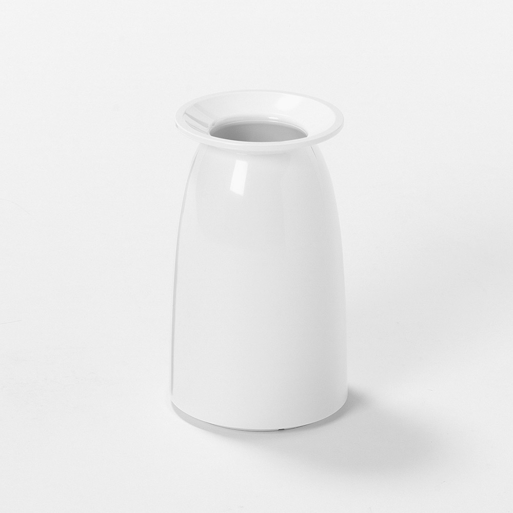 meliflor Vase Viole klein weiß