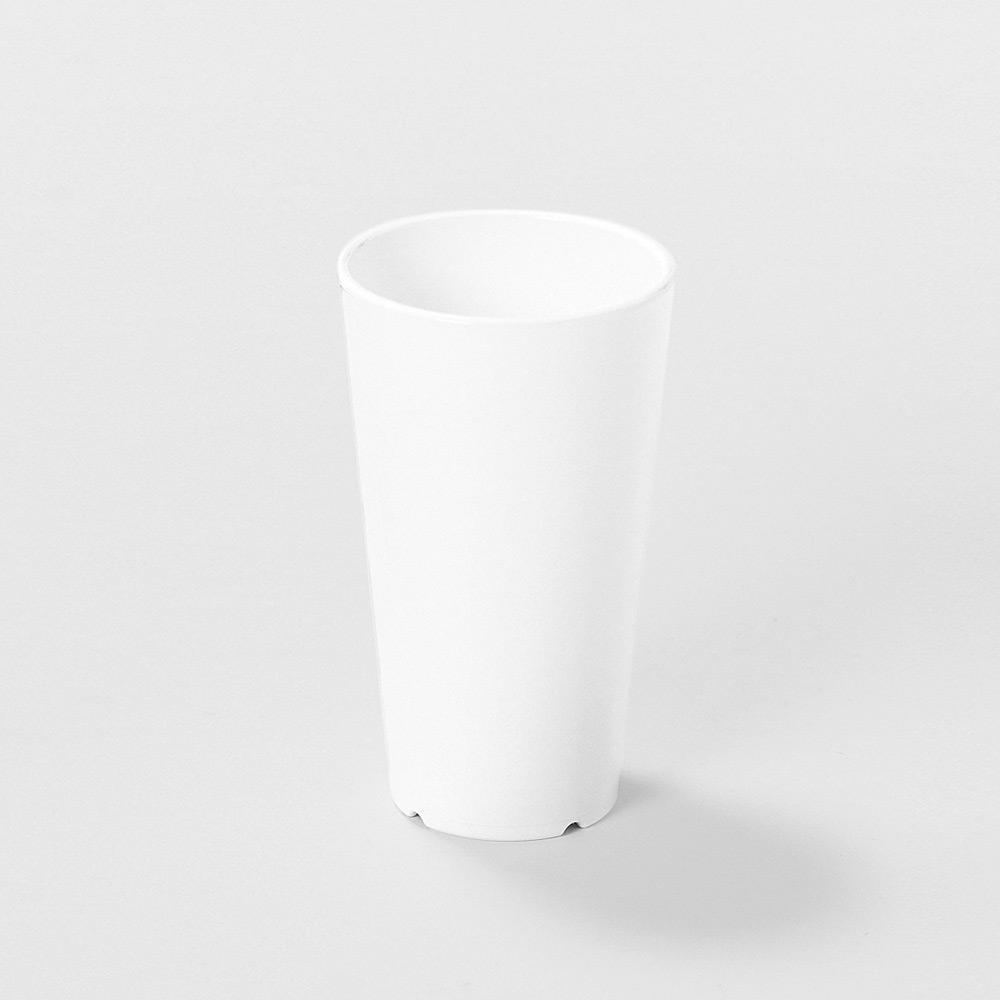 meliflor Vase Lisa PP klein weiß