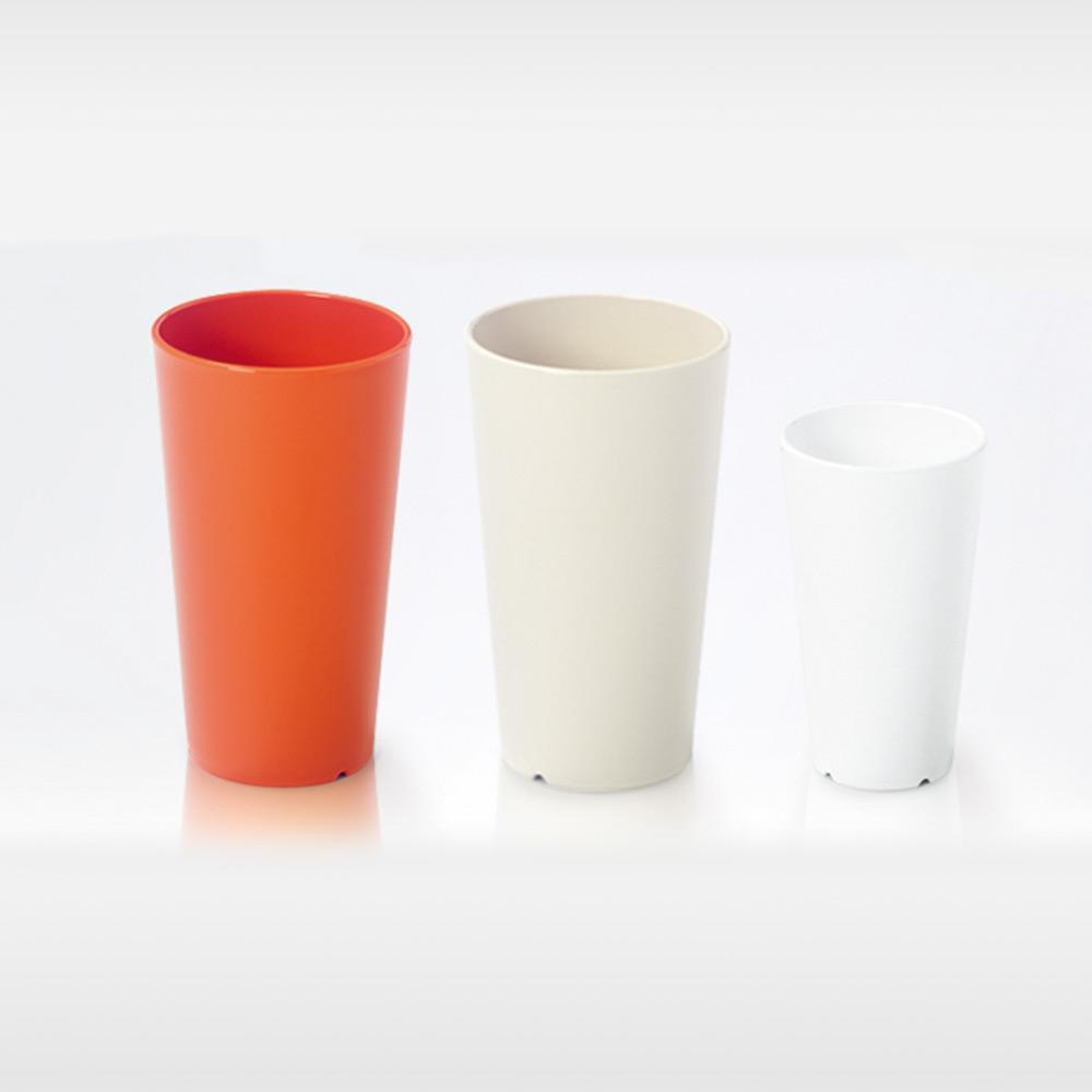 meliflor Vase Lisa PP klein weiß - Bild 2